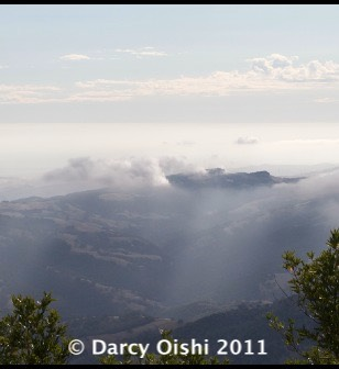 View from Mt. Diablo, California